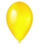 Шар круглый (13 см) желтый металлик - 37
